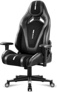 Black Suede fabric - gaming chair