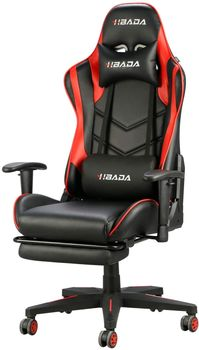 Hbada Racing Style Gaming Chair With Footrest
