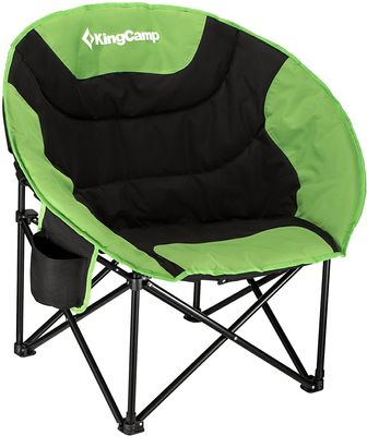 KingCamp Moon Saucer Camping Folding Round Chair