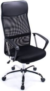 Poptoy High Curved Back Mesh Home Office
